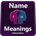 Name Meanings with Detail Information Icon