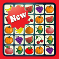 Fruit Connect - New Tile Puzzle & Match Brain Game Icon