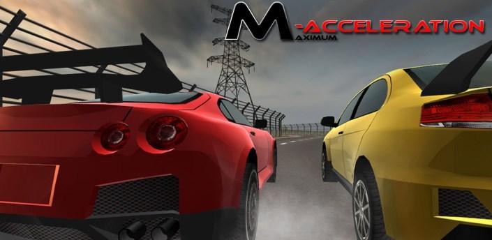 M-acceleration 3D Car Racing apk