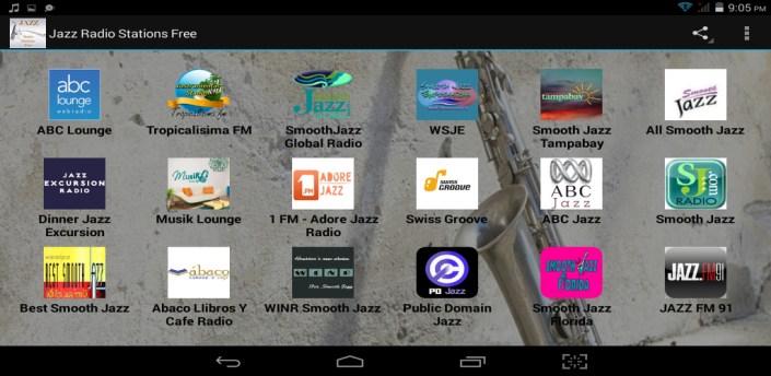 Jazz Radio Stations Free apk