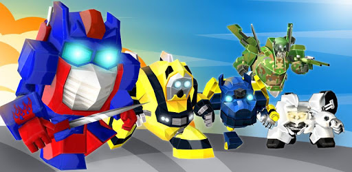 MegaBot - Flying Robot Car Transform apk