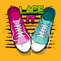 Lace It - Step By Step Unique Shoe Lacing Guide Icon