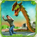 Furious Anaconda Dragon Snake City Rampage Icon
