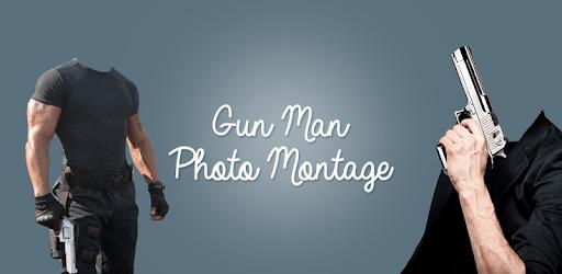 Gun Man Photo Montage apk