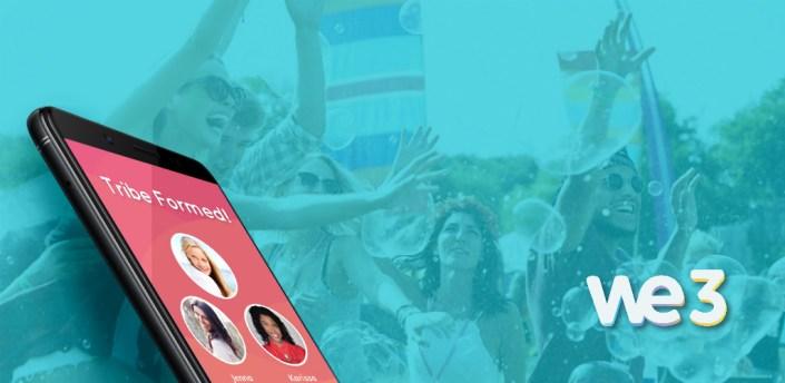 We3 - Meet New People in Groups, Make Friends App apk