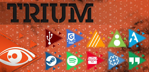 Trium Icon Pack - Be delighted apk