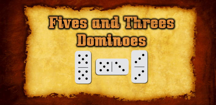 Fives and Threes Dominoes apk