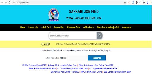 Sarkarijobfind, Sarkari Result App, Sarkari Exam apk
