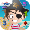 Preschool Math: Pirate Kid Icon