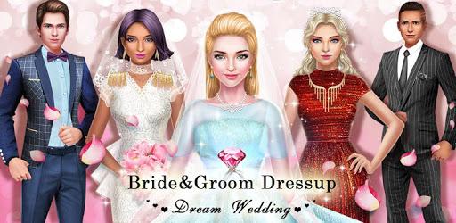 💒👰Bride & Groom Dressup - Dream Wedding apk