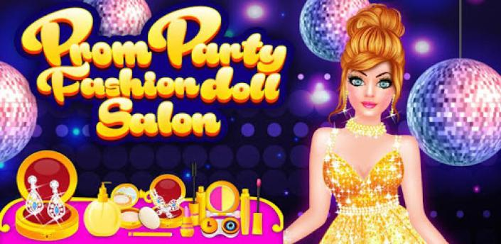 Prom Party Fashion Doll Salon Dress Up Game apk