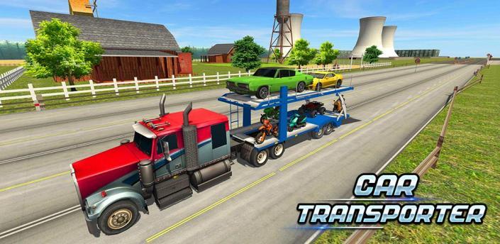 Car Transporter Truck Simulator Game 2019 apk
