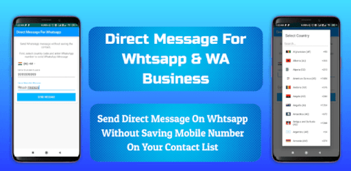Direct Message For WhatsApp & WA Business apk