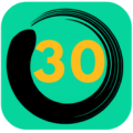 Lose Weight In 30 Days Challenge Icon