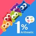 1proMath - arithmetic workbook(Add, Sub, Multiple) Icon