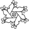 Easy Rangoli Designs Icon