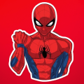 Spiderman Stickers Icon