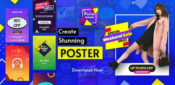 Poster Maker -Banner Flyer Cover Ads Page Designer apk