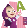 Masha and The Bear Letters Icon