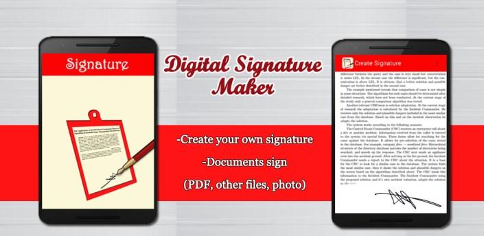 Digital Signature Maker apk