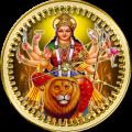 Durga Mata Clock LWP Icon