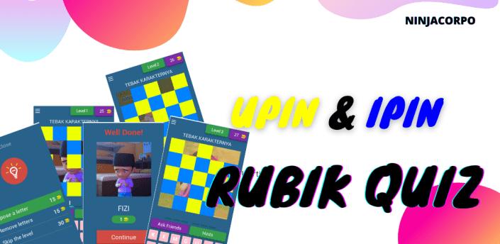 Upin & Ipin Rubik Quiz apk