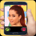 Fake Call Ariana Icon