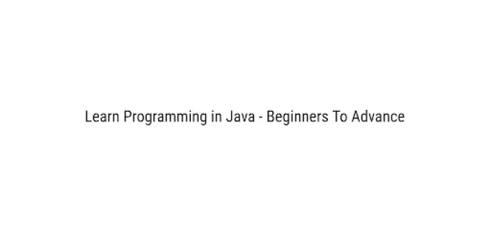Learn Programming in Java - Beginners To Advance apk