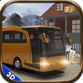 off road coach bus driver 2017 Icon