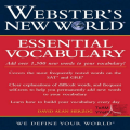 Webster's New World Essential Vocabulary for SAT and GRE Icon