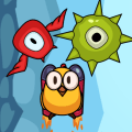 Happy Bird Jump - Cute Jump and Fly Arcade Game Icon