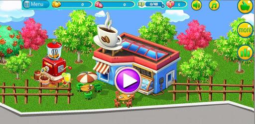 cafe story cafe game-coffee shop restaurant games apk