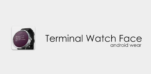 Terminal Watch Face apk