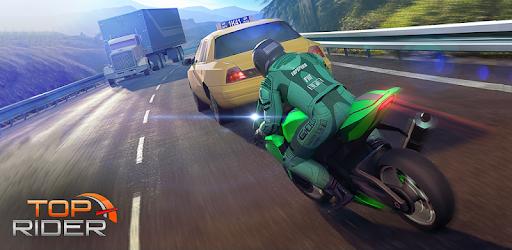 Top Rider: Bike Race & Real Traffic apk