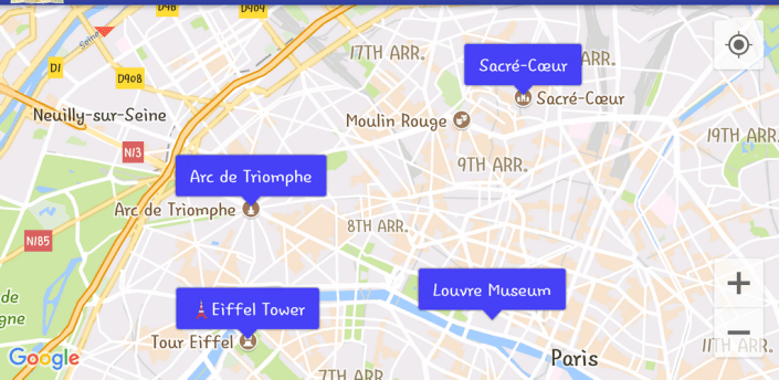 Map Bookmark / Streetview Player / GPX Viewer apk