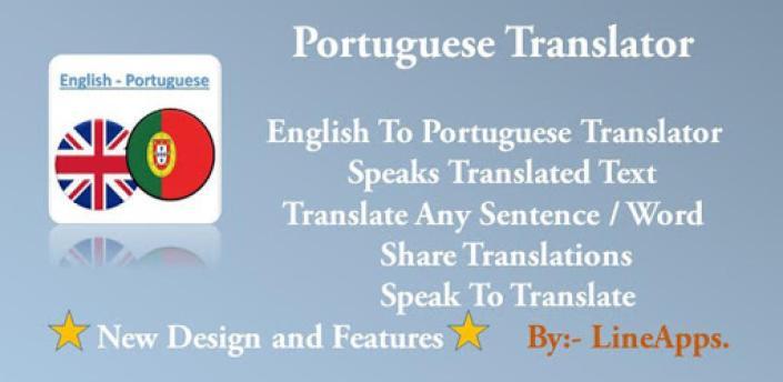 Portuguese Translator apk