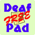 Deaf Pad Free Icon