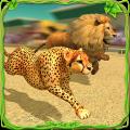 Savanna Animal Racing 3D Icon