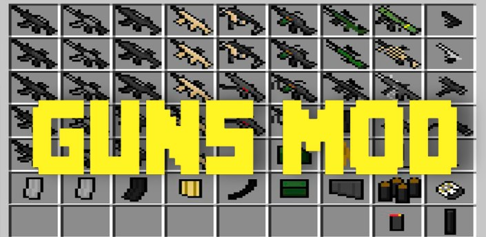 Mod for mcpe weapons apk