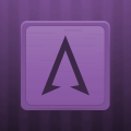 Wooden Icons Violet Icon