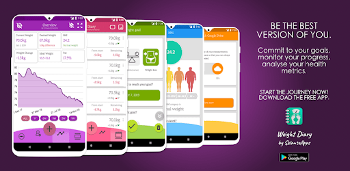 Weight Diary - Weight Loss Tracker, BMI, Body Fat apk