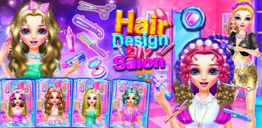 Hair Designer DIY Salon apk