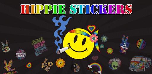 Hippie Sticker- Emoji Keyboard apk