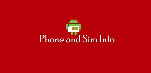 Phone and SIM Info apk