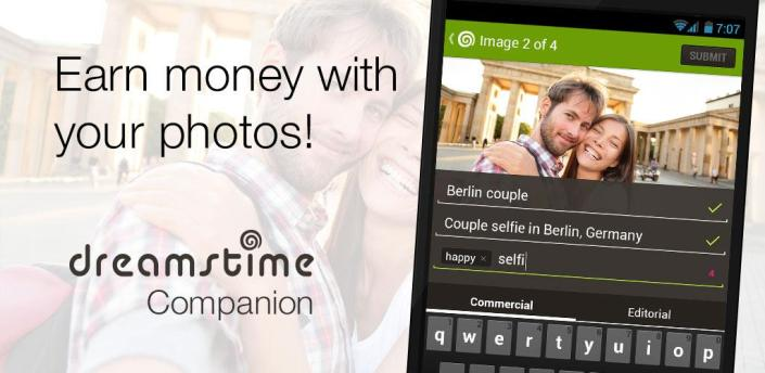 Dreamstime: Sell Your Photos apk