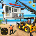 Beach House Builder Construction Games 2018 Icon