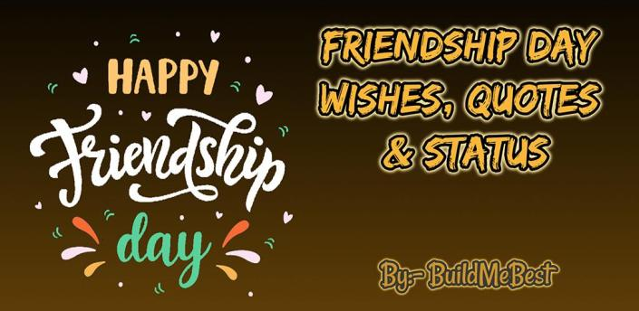 Happy Friendship Day Wishes, Status Quotes Message apk
