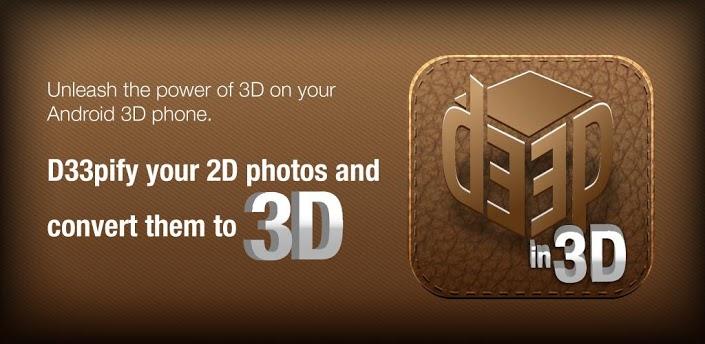 3D photos for Facebook: free apk