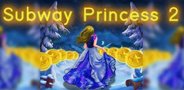 Subway Princess Runner 2 -  Castle Surf Girl World apk