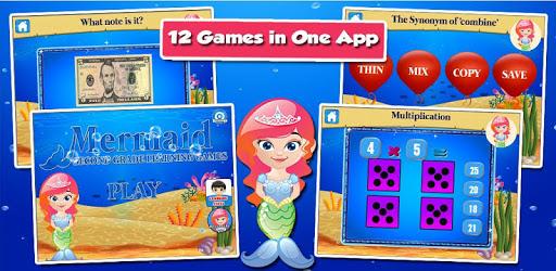 Mermaid Princess Grade 2 Games apk